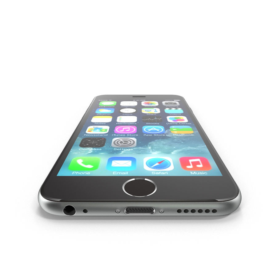 Apple iPhone 6s royalty-free 3d model - Preview no. 7