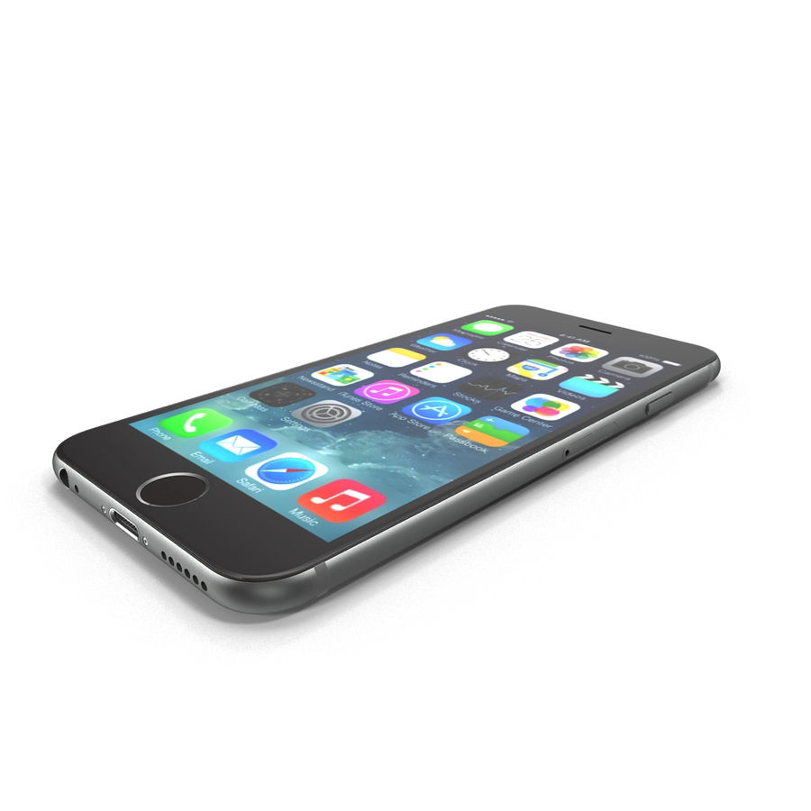 Apple iPhone 6s royalty-free 3d model - Preview no. 2