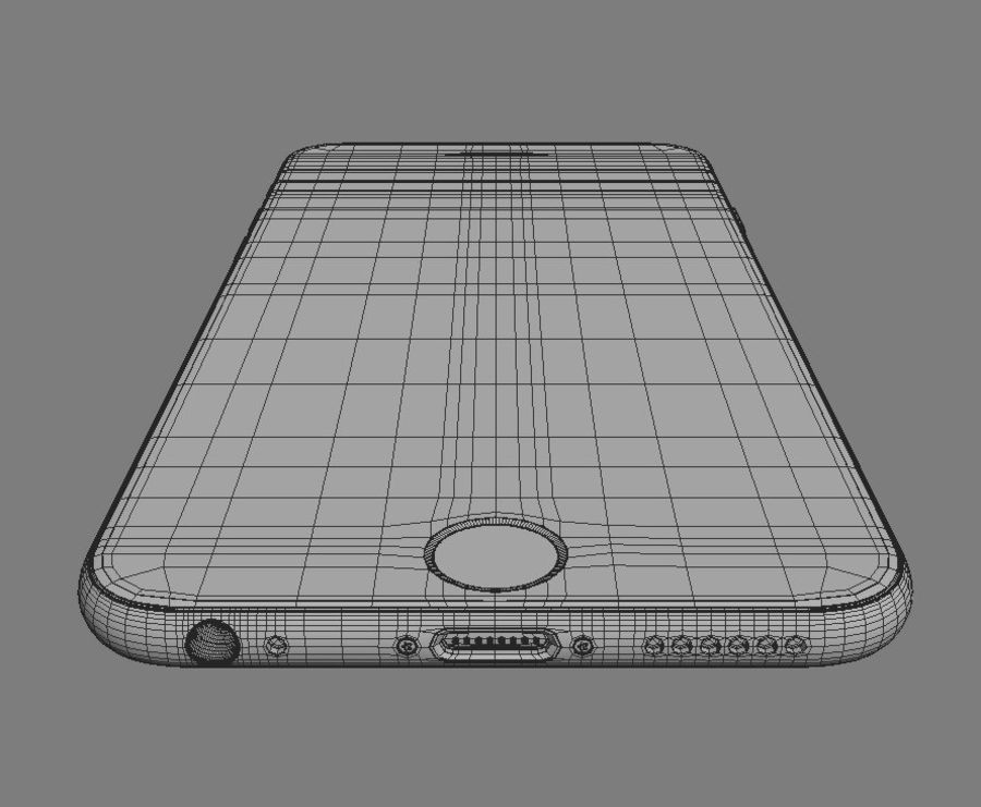 Apple iPhone 6s royalty-free 3d model - Preview no. 12