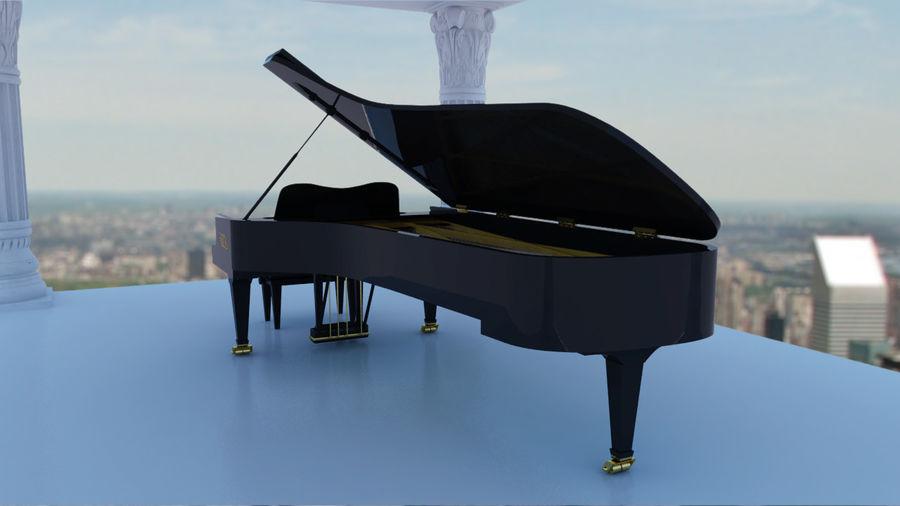 Fazioli F308 Concert Grand Piano royalty-free 3d model - Preview no. 6