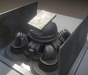 Hareketli Kule 3d model