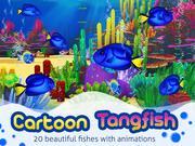 Cartoon Tang fish 3d model