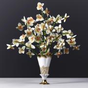orquídea 2 3d model