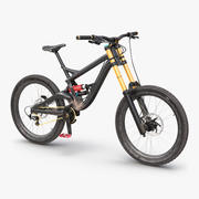 Mountainbike Generika 3d model