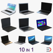 일반 노트북 3D 모델 컬렉션 3d model