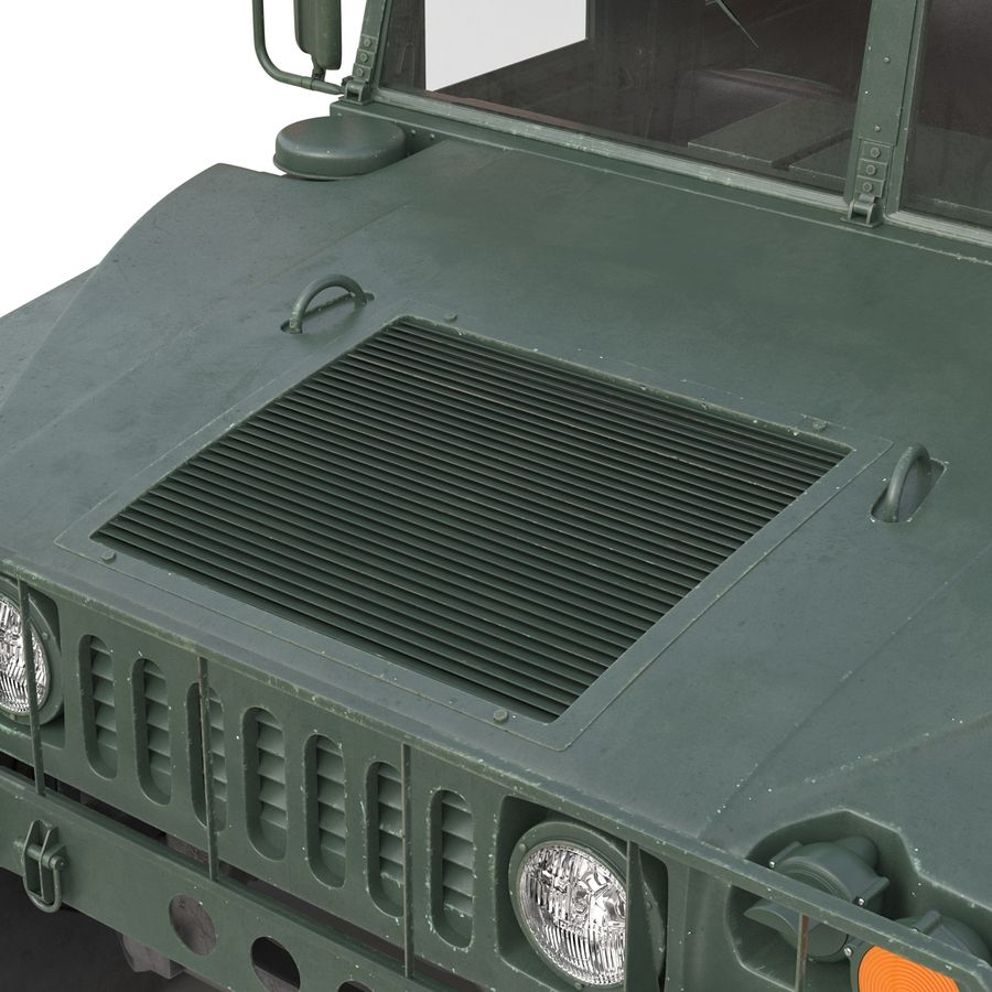 Humvee royalty-free 3d model - Preview no. 35
