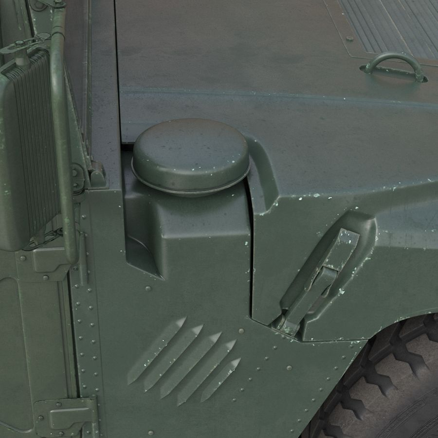 Humvee royalty-free 3d model - Preview no. 36