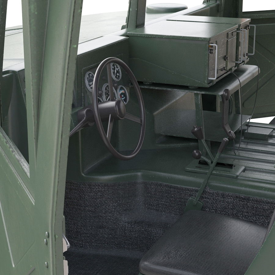 Humvee royalty-free 3d model - Preview no. 42