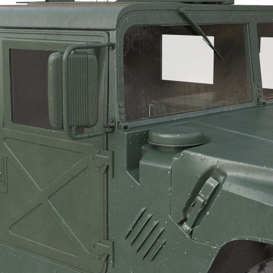 Humvee royalty-free 3d model - Preview no. 32