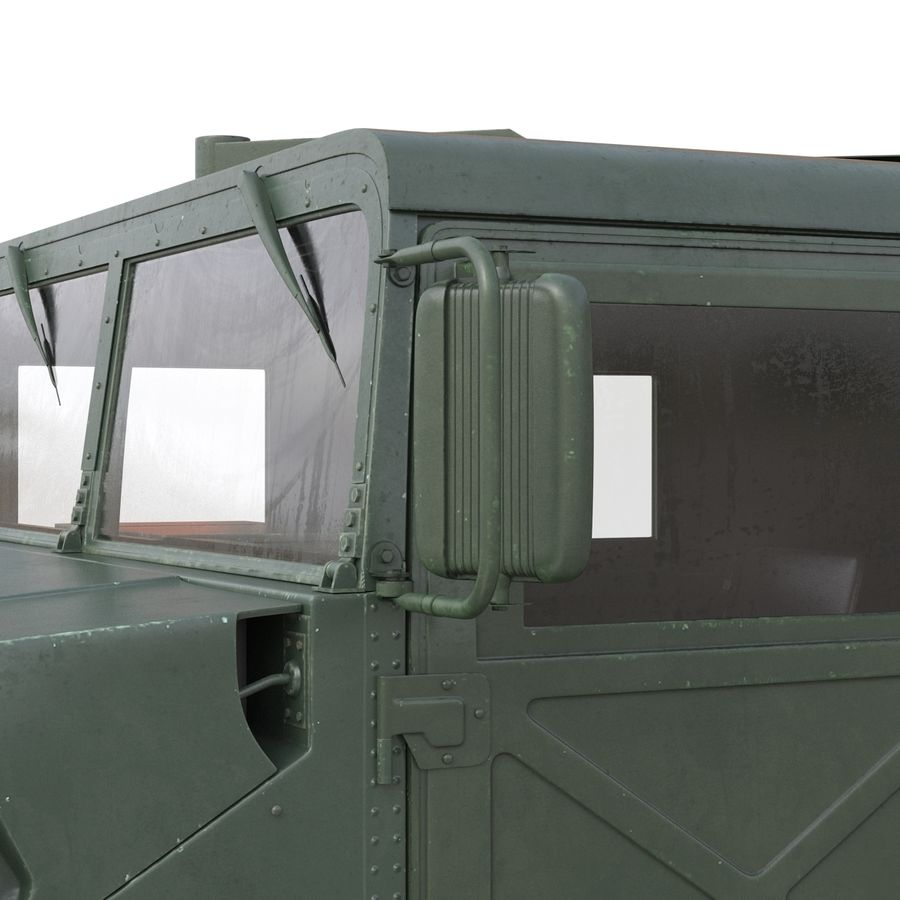 Humvee royalty-free 3d model - Preview no. 34