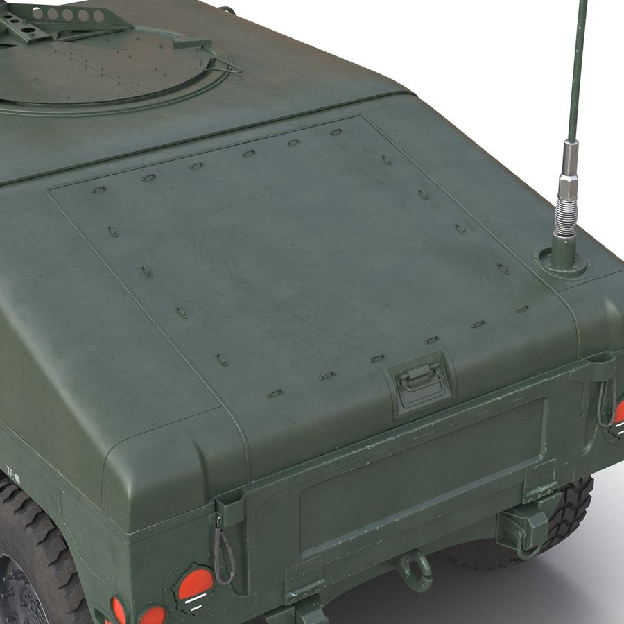 Humvee royalty-free 3d model - Preview no. 24