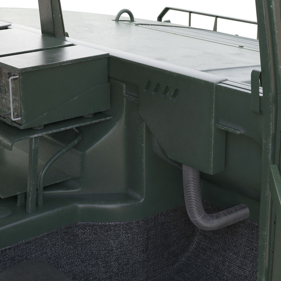Humvee royalty-free 3d model - Preview no. 45