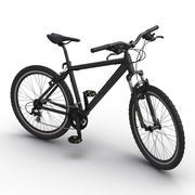 Mountain Bike Black 3d model