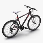 Mountain Bike Red 3d model