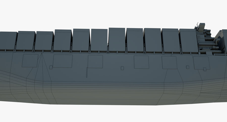CMA Pegasus royalty-free 3d model - Preview no. 21