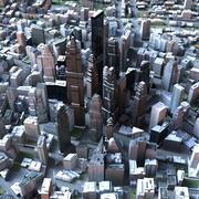 Big City 50 3d model