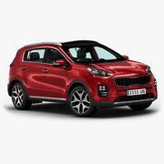 2016 Kia Sportage 3d model