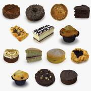 ケーキコレクション 3d model