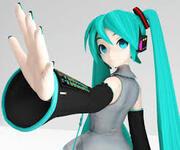 Хацунэ Мику (HD текстуры) 3d model