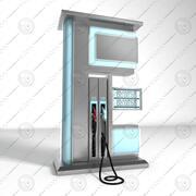 Stacja benzynowa 3d model