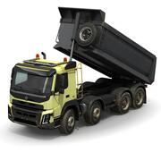 Truck Heavy Duty Rigged 3d model