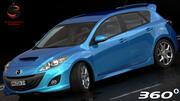 Mazda 3 2010 3d model