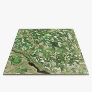 绿山景观 3d model