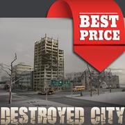 Destroyed City - BEST PRICE 3d model