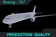 Klaar voor de productie van vliegtuigen 3d model