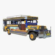 Jeepney 3d model