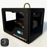 3DプリンターReplicator 2 low poly 3d model