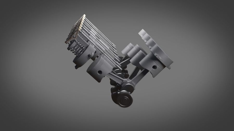 Engine royalty-free 3d model - Preview no. 14