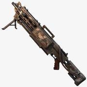 機関銃 3d model