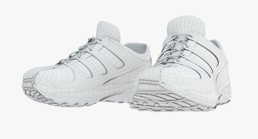 Chaussures de course royalty-free 3d model - Preview no. 14
