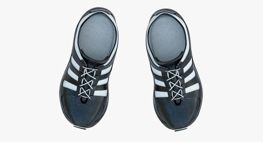 Chaussures de course royalty-free 3d model - Preview no. 12