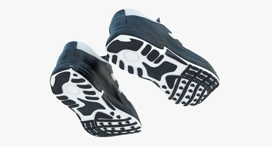 Chaussures de course royalty-free 3d model - Preview no. 6
