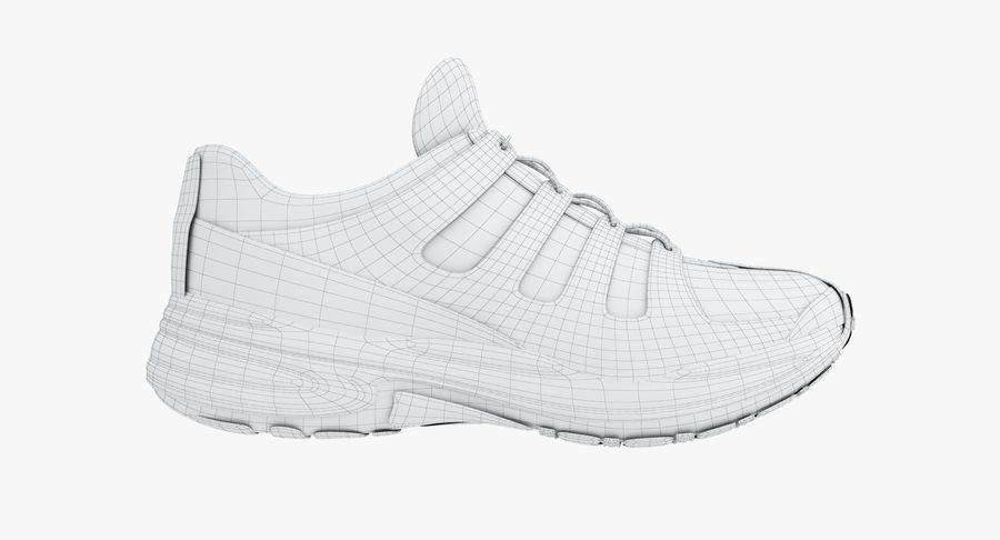 Chaussures de course royalty-free 3d model - Preview no. 15