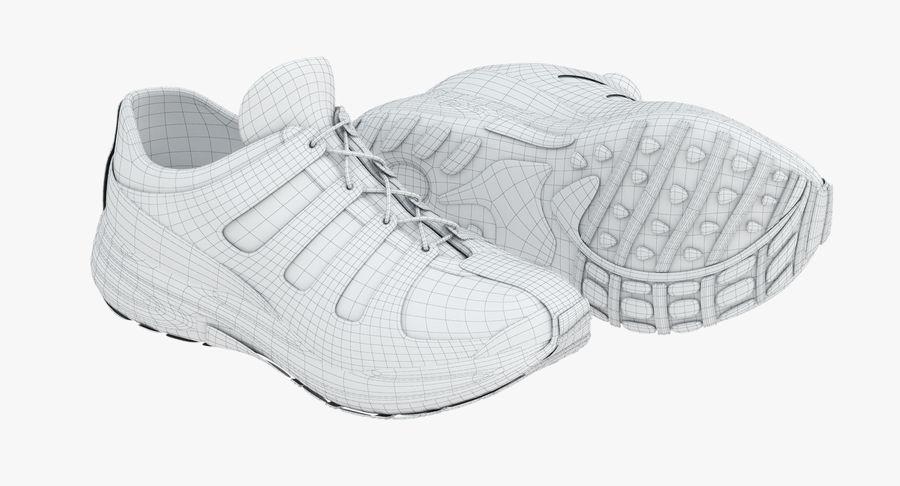 Chaussures de course royalty-free 3d model - Preview no. 13