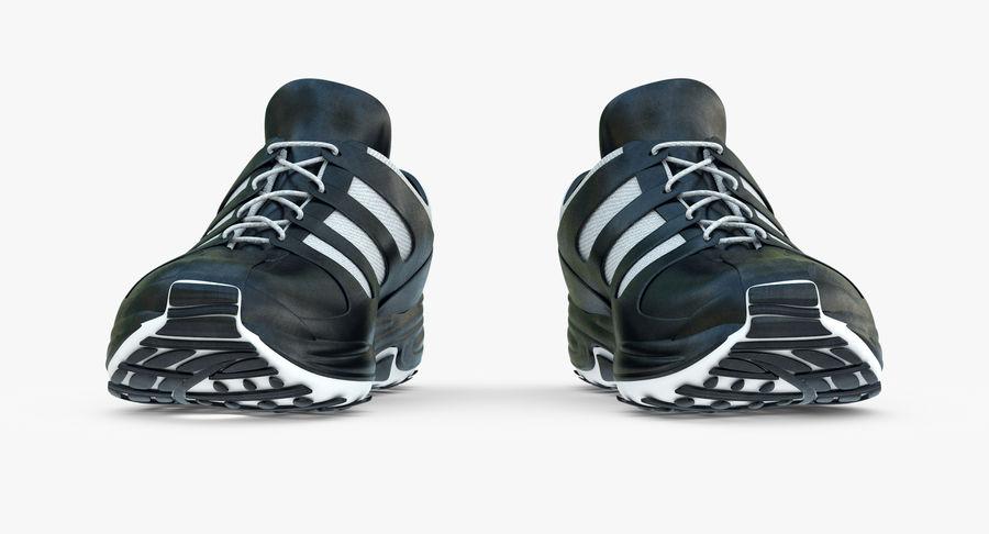 Chaussures de course royalty-free 3d model - Preview no. 10