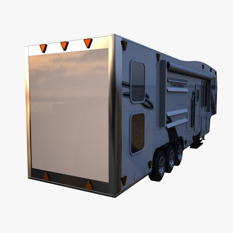 caravan 2 royalty-free 3d model - Preview no. 4