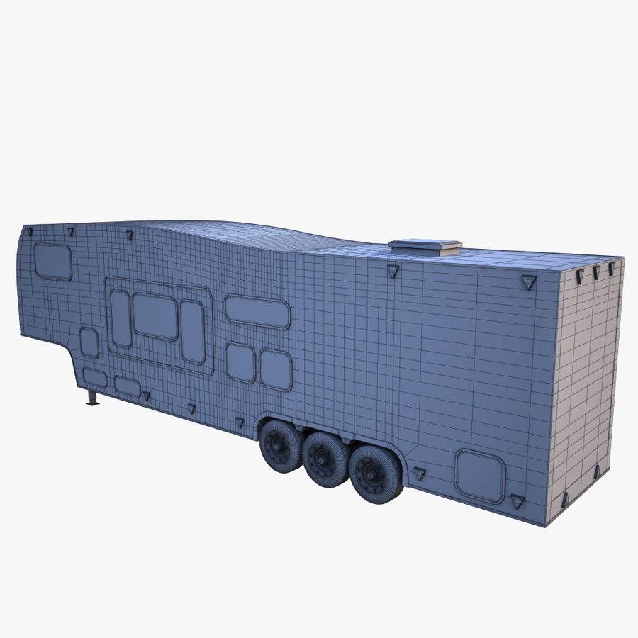 caravan 2 royalty-free 3d model - Preview no. 9