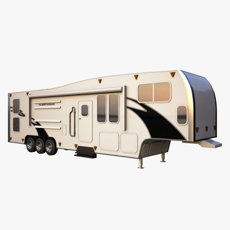 caravan 2 royalty-free 3d model - Preview no. 1