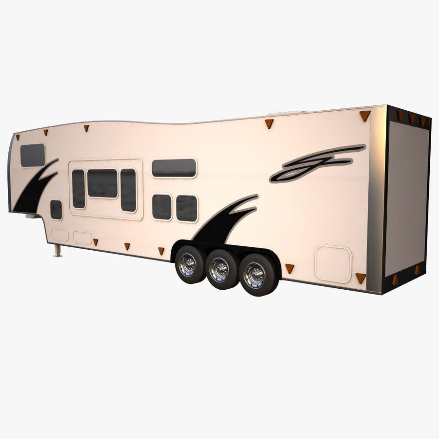 caravan 2 royalty-free 3d model - Preview no. 3