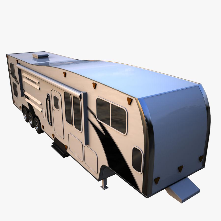 caravan 2 royalty-free 3d model - Preview no. 6