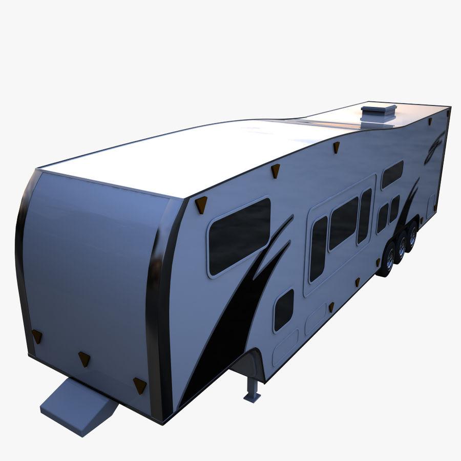 caravan 2 royalty-free 3d model - Preview no. 7