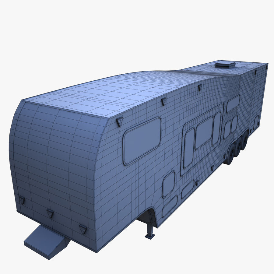 caravan 2 royalty-free 3d model - Preview no. 8
