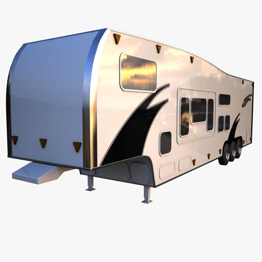 caravan 2 royalty-free 3d model - Preview no. 2