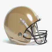 Football Helmet 2 3d model