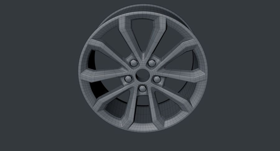 koła royalty-free 3d model - Preview no. 5