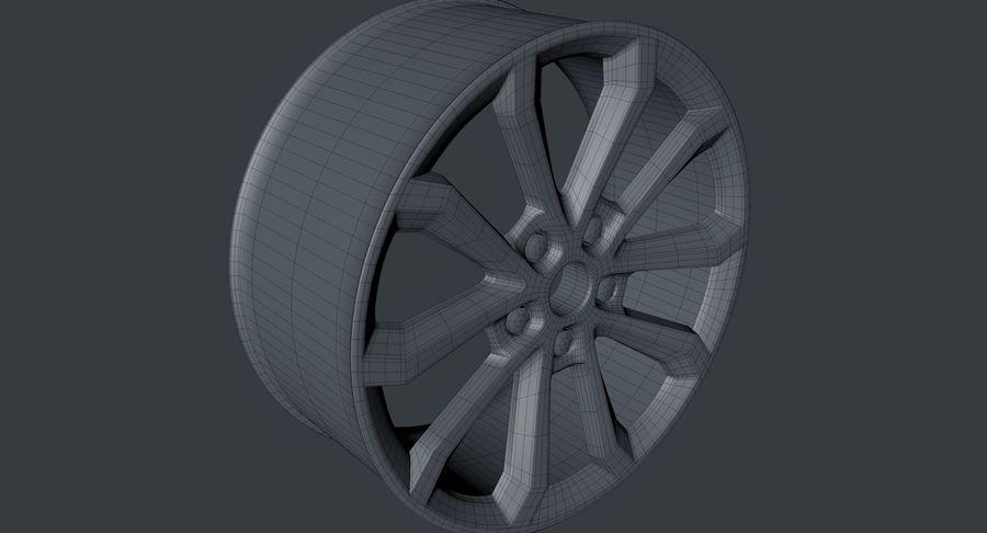 koła royalty-free 3d model - Preview no. 4